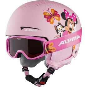 Alpina Zupo Disney Set Ski Helmet Kids, minnie mouse